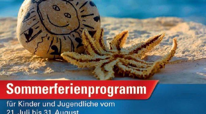 Ferienprogramm Sommer 2016