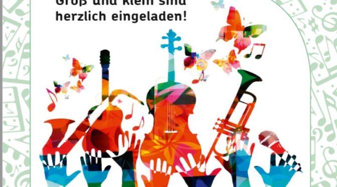 Bitte vormerken:  4. Schülerkonzert am 18.6., 17 Uhr, St. Andreas Bogenstraße 28