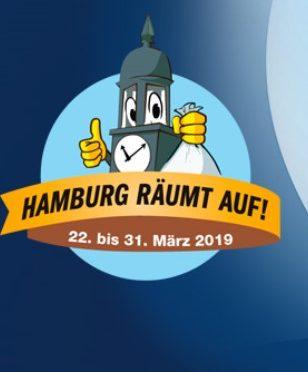 Hamburg räumt auf – Wir sind dabei am 28. und 29. März 2019